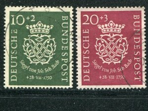 Germany #B314-15 J.S. Bach seal  Used