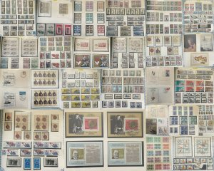 EAST GERMANY Large 1980s MNH Used Sheet Cover 4kg+Album Collection(GM500)
