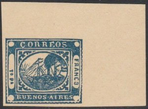 ARGENTINA  An old forgery of a classic stamp ...............................D746