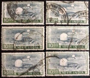 India Scott#685 F/VF Used 6 stamps Cat. $10.80