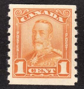 Canada Scott 160  F+  mint OG H. Nice clean perfs !