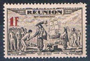 Reunion C13A MNH De Poivre 1943 (R0460)+