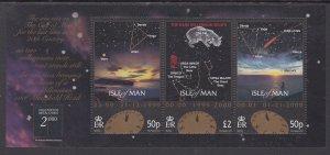 Isle of Man 850 Souvenir Sheet MNH VF