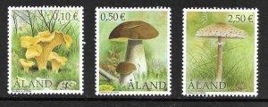 2003  ALAND - SG: 224/226  -  MUSHROOMS / FUNGI  -   UNMOUNTED MINTM