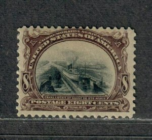 US Sc#298 M/H/F, Cv. $90