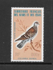 BIRDS -  AFARS and ISSAS #C102   MNH
