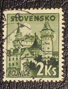 Slovakia Scott #61 used