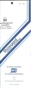 Showgard Strip Mounts Size 80 = 80mm Fresh New Stock Unopened 10 Strips