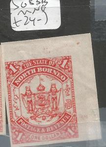 North Borneo SG 83b MNG (2cma)