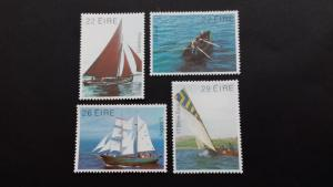 Ireland 1982 Irish Boats Mint