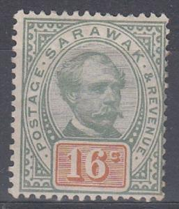 Sarawak Scott 17 Mint hinged (Catalog Value $62.50)