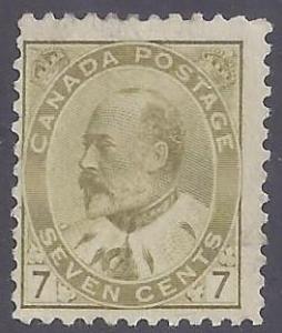 Canada scott #92 Mint PH OG Fine