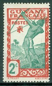 French Guiana - Scott 110 MH