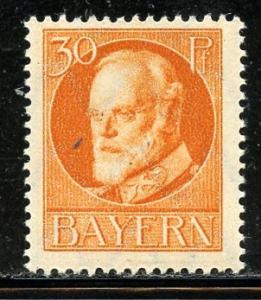 Bavaria # 104, Mint Hinge. CV $ 1.25
