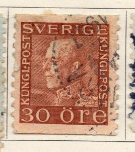 Sweden 1920-25 Early Issue Fine Used 30ore. 127576