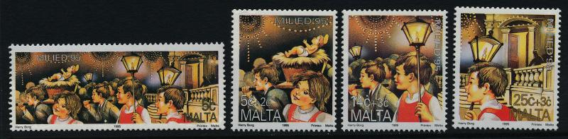 Malta 874-7 MNH Christmas, Children