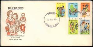 Barbados, First Day Cover, Children