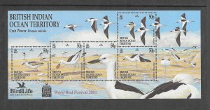 BIRDS - BRITISH INDIAN OCEAN TERRITORY #238   MNH