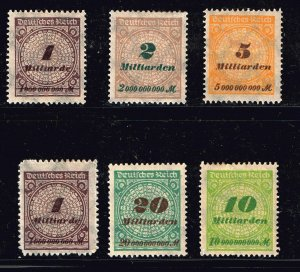 GERMANY STAMP MINT STAMPS COLLECTION LOT  #M7