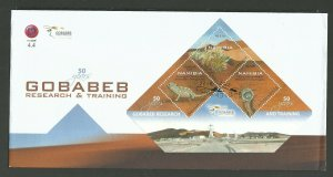 2012   NAMIBIA  -  SG: MS1210 -GOBABEB RESEARCH -  FIRST DAY COVER