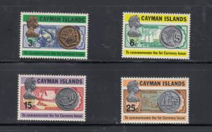 CAYMAN ISLANDS # 306-30-,452-462 VF-MNH 1ST CURRENCY & FLORA/FAUNA CAT VALUE $24