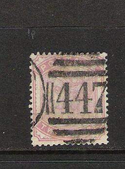 GREAT BRITAIN 81 VFU W30 CV80 Q437