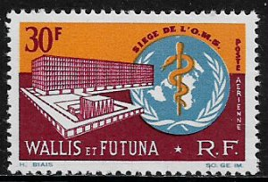 Wallis & Futuna #C25 MNH Stamp -  WHO Headquarters