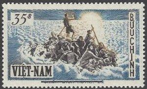 Vietnam 54 MNH   Refugees on Raft 2