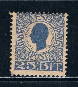 Danish West Indies 34 MLH King Christian IX (D0030)