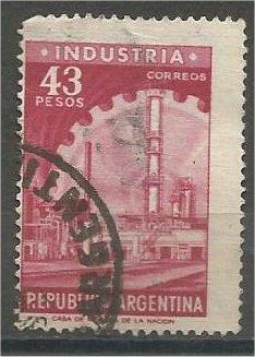 ARGENTINA, 1965, used 43p, Industria, Scott 823