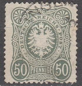 Germany #34 F-VF Used CV $11.00  (S811)