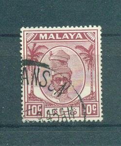 Malaya - Perak sc# 111 (2) used cat value $.50