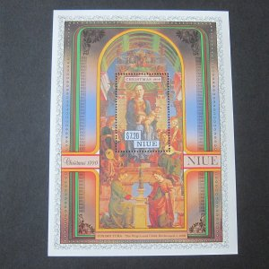 Niue 1990 Sc 593 Christmas Religion set MNH