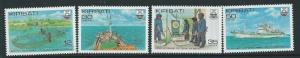 KIRIBATI SG158/61 1981 TUNA FISHING MNH
