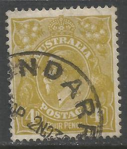 AUSTRALIA 118 VFU P210