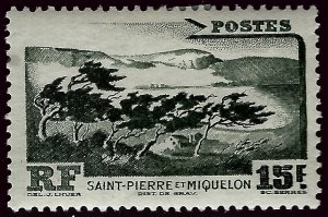 St. Pierre & Miquelon #340 Mint VF hr...French Colonies are Hot!
