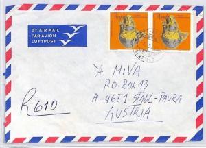 CA101 1998 Angola *MISSAO CATOLICA CATUMBELA* Benguel Cover MISSIONARY VEHICLES