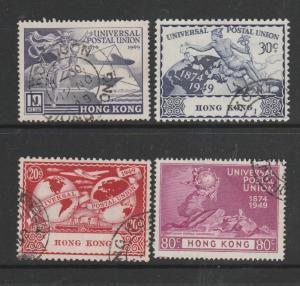 Hong Kong 1949 UPU Used SG 173/6