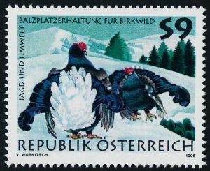 Austria 1747 MNH Birds, Black Cocks