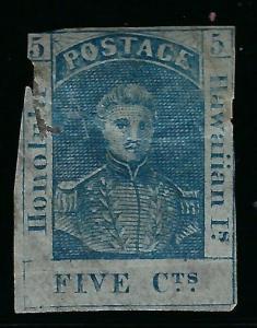 *9, 5 CENT BLUE, SCOTT 400