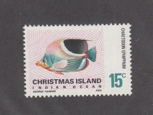 Christmas Island Scott #29 MH