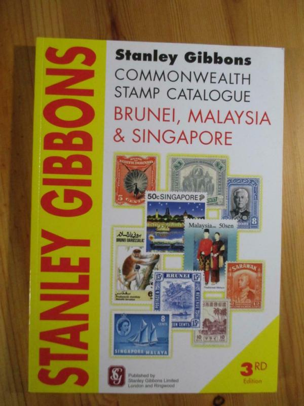 VEGAS - 2010 3rd Ed- Gibbons Brunei, Malaysia Singapore  Stamp Catalogue - CV118