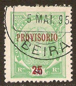 Mozambique Company Scott # 43 Used.