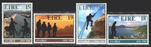 Ireland. 1981. 441-44. Tourism, mountaineering, cyclists, landscapes. MVLH.