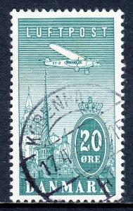 Denmark - Scott #C8 - Used - SCV $6.50
