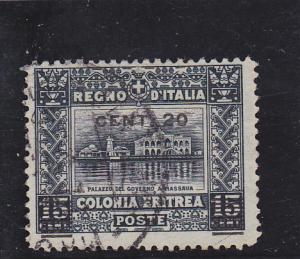 Eritrea  Scott#  52  Used