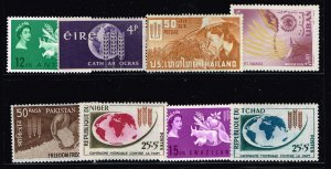 WORLDWIDE 1963 Freedom from Hunger MNH STAMP COLLECTION LOT