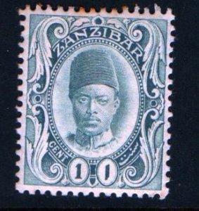 ZANZIBAR 99 MINT HINGED, SULTAN ALI BIN HAMOUD ISSUE 1908