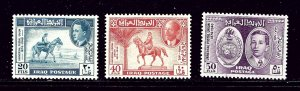 Iraq 130-32 MH 1949 UPU 75th Anniversary