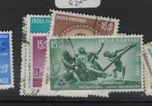 India SC 320-1, 323-5 VFU (5dus)